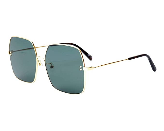 Stella McCartney SC0158S GOLD-GOLD-GREEN (001) - Gafas de ...