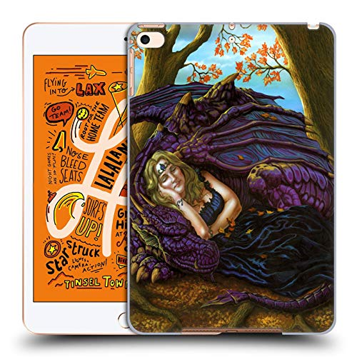Official Ed Beard Jr Escape to The Land of Nod Dragon Friendship Hard Back Case Compatible for iPad Mini (2019) (Best Ipad Escape Games 2019)