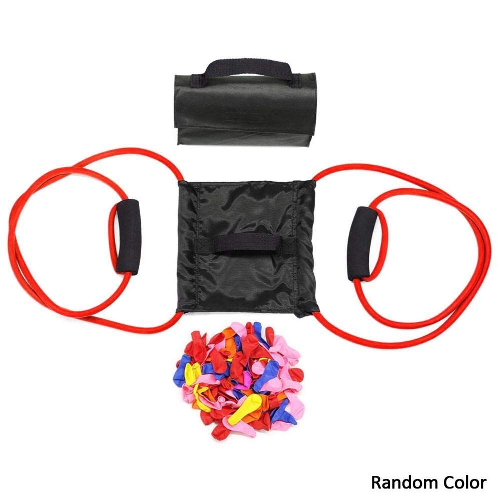 Haniforever Water Balloon Launcher 300 Yards, Heavy Duty Water Balloon Cannon, Slingshot Fun Water Balloon Fight Pool Party Toy, Summer Beach Games - Random Color