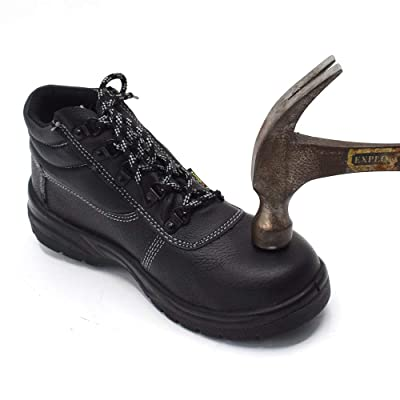 TOAUTO Work Shoes, Waterproof Work Boots for Men and Women, Soft Dust-Proof Working Shoes: Shoes