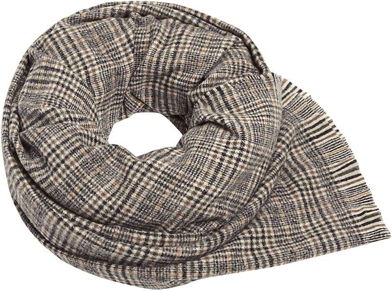 ESPRIT Glencheck-Schal mit Fransen