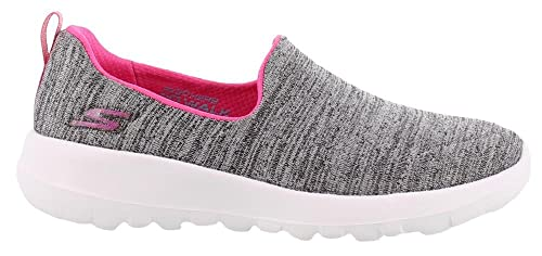 63598693fc91 Skechers Girl s Go Walk Joy-Enchant Gray Pink Sneakers-12 Kids UK ...