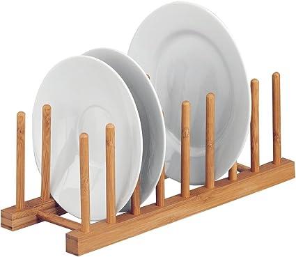 DIY Tellerständer Geschirrhalter Teller Organizer Ständer Tellerhalter Küche