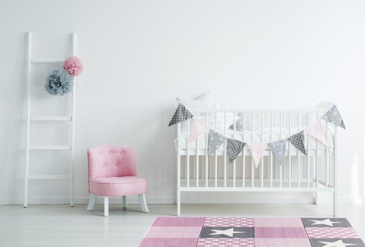 Livone Kinderteppich Happy Rugs Rugs Rugs STARWALK 3 Rosa Silbergrau 120x180 cm B078N6BLZP Teppiche & Lufer dd0c37