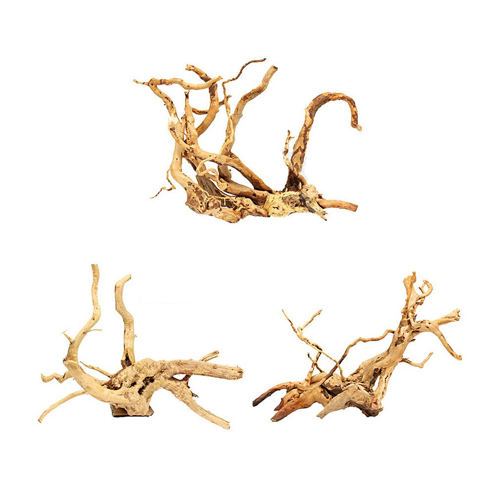 Pinzhi Wood Natural Trunk Driftwood Tree Acuario Tanque de Peces Decoración Ornamento (15-20cm): Amazon.es: Hogar