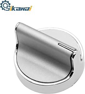 Sikawai W10594481 Surface Burner Control Knob Replacement for Whirlpool Stove/Range/Cooktop W10594481 WPW10594481 AP6023301