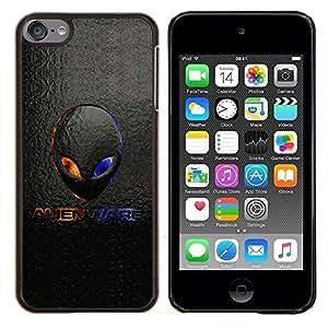 TECHCASE---Cubierta de la caja de protección para la piel dura ** Apple iPod Touch 6 6th Touch6 ** --Extranjero Logo