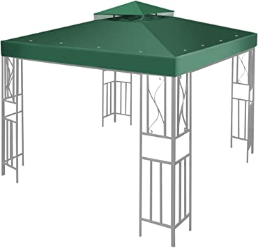 12x12 Waterproof Canopy Top Replacement Patio Cover For Harbor Gazebo GFS01250A