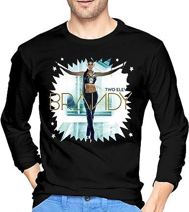 Camisetas de Manga Larga, Hombre, Camisas Casual, Ropa Deportiva, Brandy Two Eleven Mens Long Sleeve Tshirts Black: Amazon.es: Ropa y accesorios