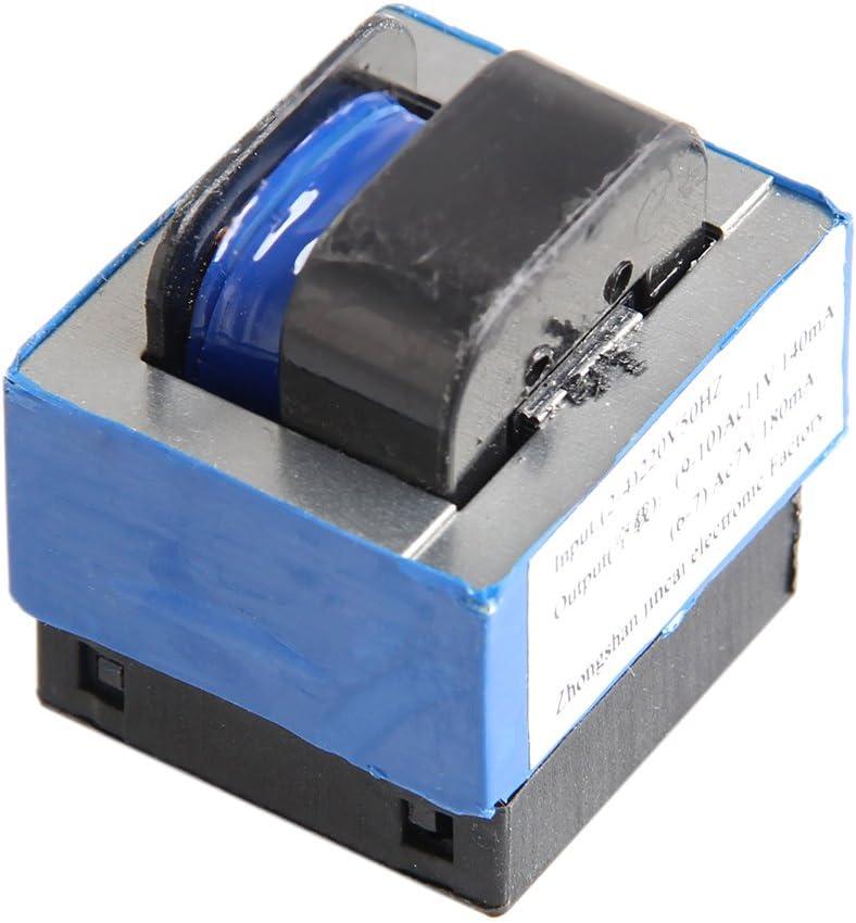 Bilinli AC 220V a 11V / 7V 140mA / 180mA Transformador de Potencia de Horno de microondas de 7 Pines