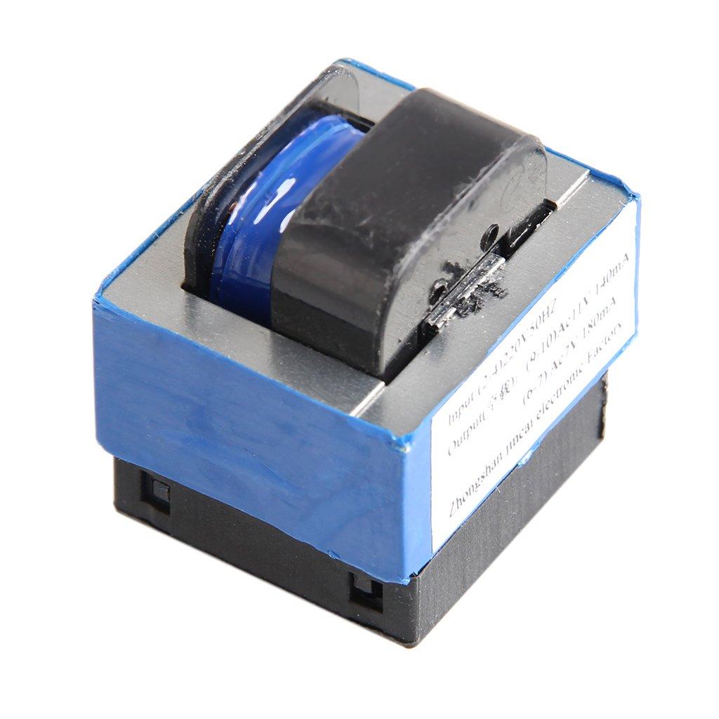 AC 220V to 11V/7V 140mA/180mA 7-pin Microwave Oven Power Transformer (7 V)