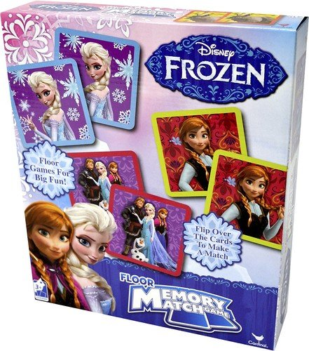 Disney Frozen Floor Memory Match, 54 pieces image