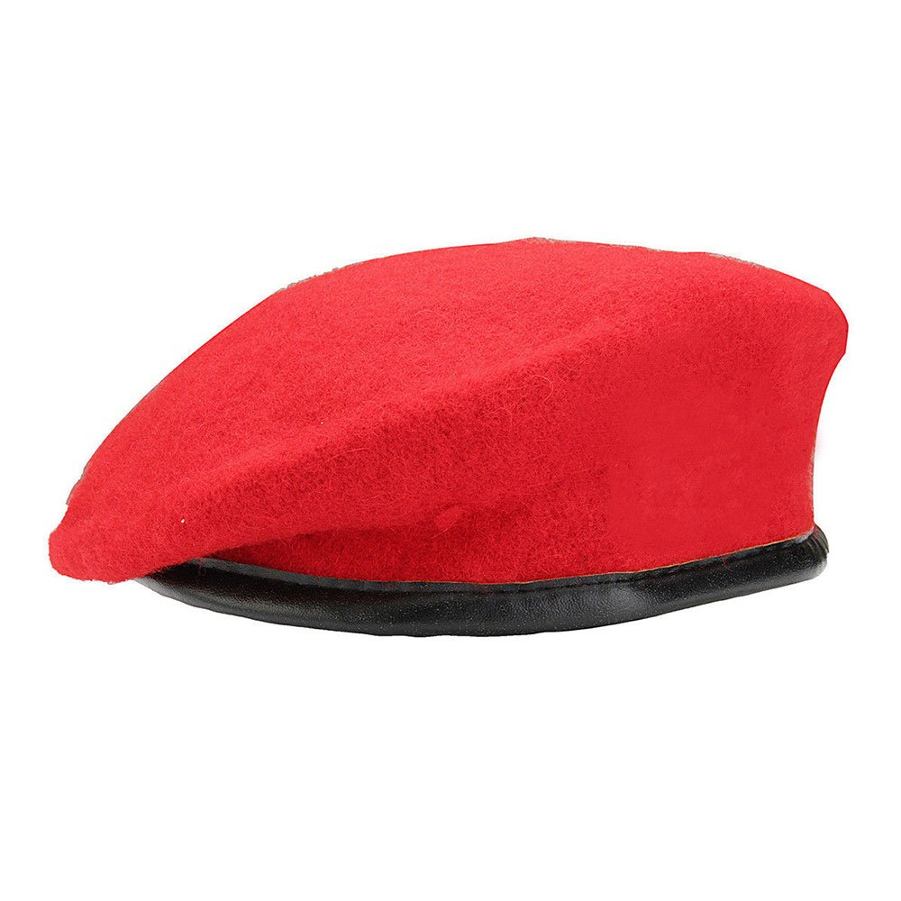 Vin beauty wlgreatsp Men Women Solid Color Classic Wool Beret Cap Beret Cap