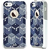 Unnito iPhone 5 Case - Commuter Case for iPhone 5S Case - Hybrid Slim Cover With Hard Shell and Soft Inner Layer For Apple iPhone 5/5S/SE White Case - Dr Who Phone Booth
