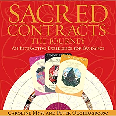 Sacred Contracts: Myss, Caroline: Toys & Games [5Bkhe0303594]