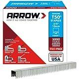 Arrow Fastener 506IP 3/8-Inch Genuine T50 Staples, 5,000-Pack