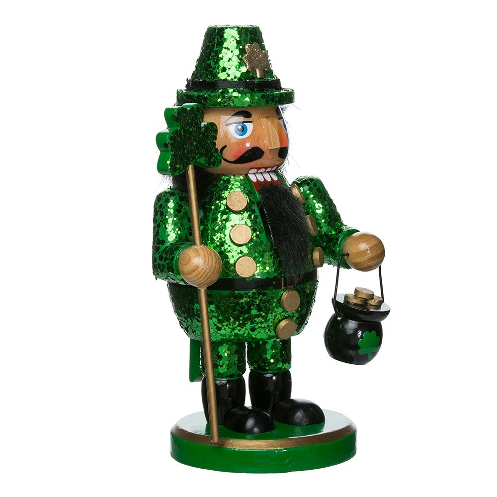 Kurt Adler 8'' Wooden Irish Nutcracker (C5833)