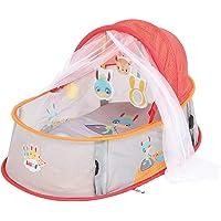 Ludi   90020    Dodo Nomade Tourbillon   Lit d'appoint douillet   ouverture facile   Rangement compact   Moustiquaire et filtre anti-UV   Dès la naissance