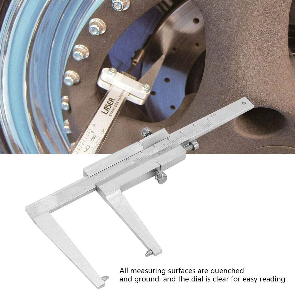 /Étriers de mesure de disque de frein /Étriers de vernier en acier inoxydable pour mesurer l/épaisseur des disques de frein de 0 /à 60 mm /Étriers