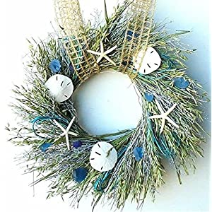 Nautical Christmas Wreath.50 Beach Christmas Wreaths And Coastal Wreaths Beachfront