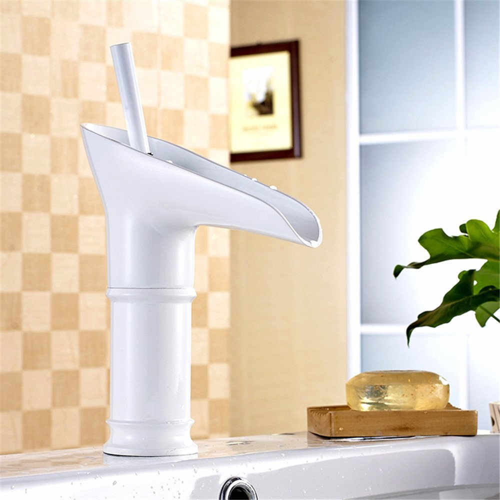 Bathroom Sink Taps Retro White Wine Glass, Bathroom Sink, Basin Taps, Hot And Cold Water