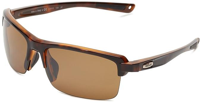 revo sunglasses a3ux  Revo Mens Crux N RE4066-04 Polarized Iridium Sport Sunglasses,Classic  Tortoise,55