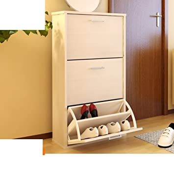 Ordinaire Wooden Shoe Cabinet Tipping Shoe Cabinet Simple And Modern Shoe Cabinet  Xuan Guan Storage Shoes Rack