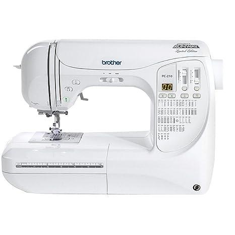 Brother PC-210 PRW edición limitada Project Runway máquina de coser