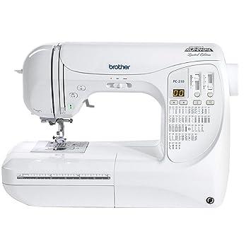 Brother PC-210 PRW edición limitada Project Runway máquina de coser: Amazon.es: Juguetes y juegos