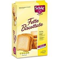 Schar Fette Biscottate, Gluten Free - 250 gr, Senza glutine