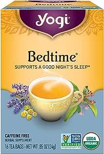 YOGI TEA Herbal Tea Bags Bedtime 16 Tea Bags