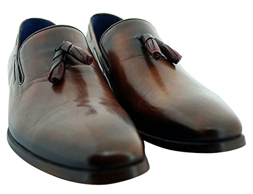 Tan/Brown Piccadilly Men's Luxury Classic Leather Shoes