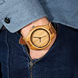 CUCOL-Mens-Bamboo-Wooden-Watch-with-Brown-Cowhide-Leather-Strap-Japanese-Quartz-Movement-Casual-Watches