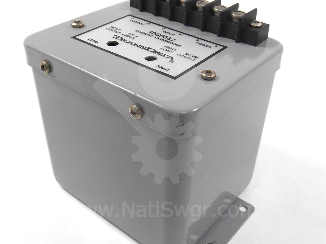 New TransData 10CP552 Current 1 Element 4-20mA Output Transducer 5 Fullscale Calibrating Amps