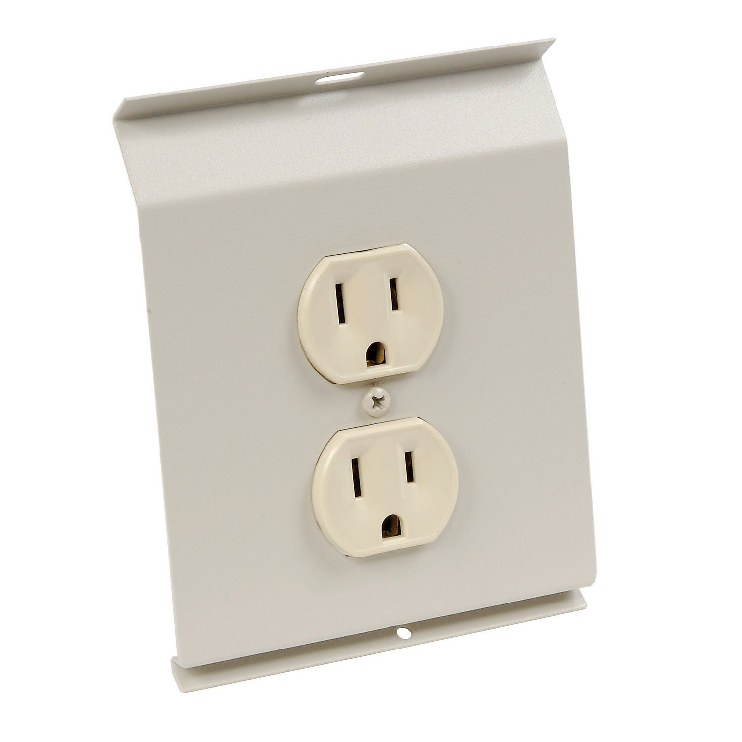 TPI BDR115 Receptacle Section for Series 2900C Electric Baseboard 15 Amps TPI Corporation Ivory
