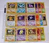 Pokemon COMPLETE FOSSIL SET 62/62 Cards Holos Rares+