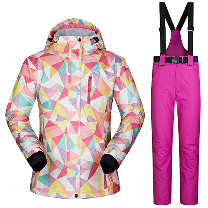 bfb6d1b79 TOOGOU Women Skiing Jackets and Pants Snowboard Clothes Warm ...