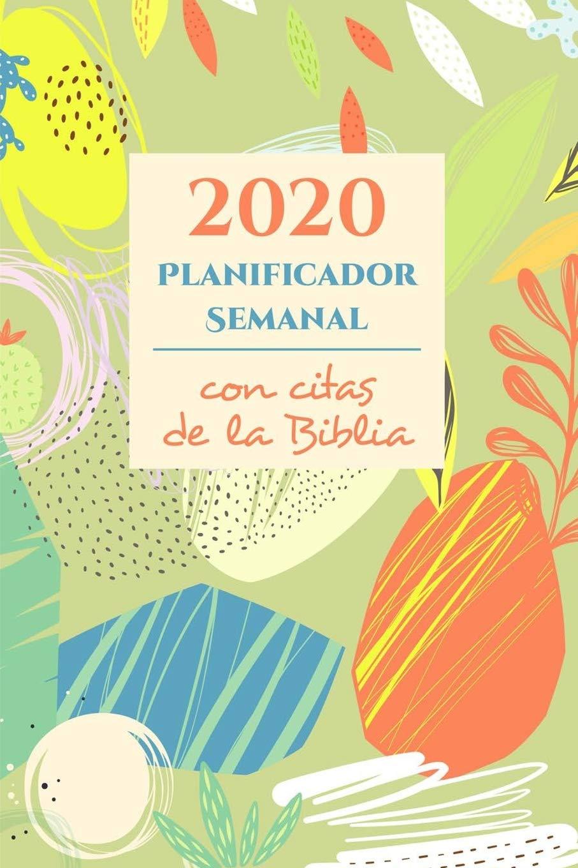 2020 Planificador Semanal y Organizador Con Citas De La ...