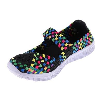 Sharplace Walking Sport Damen Mädchen Freizeitschuhe Sportschuhe Schuhe Schuhe Atmungsaktive Sandalen Turnschuhe oCxerdBW