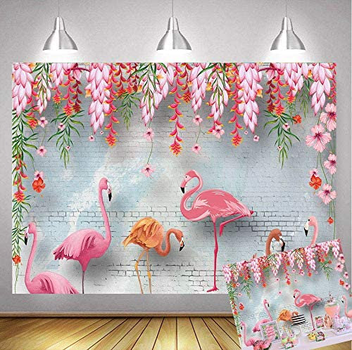 Carnival Toss Game Flamingo Toss Games with 3 Nylon Bean Bags Flamingo Backdrop Toss Games Banner for Flamingo Theme Party Birthday Party Decoration