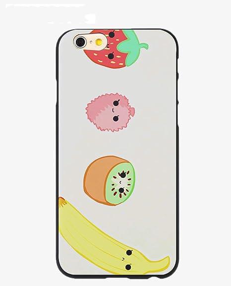 Amazon Com Fruit Strawberry Orange Lemon Coque Shell Phone Case For Iphone 8 7 6 6s Plus X 5 5s Se 5c Cover 1 For Iphone 5 5s1