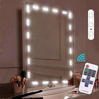 Led Spiegelleuchte, Make-up-Spiegel-Licht, Umiwe LED-Eitelkeits ...