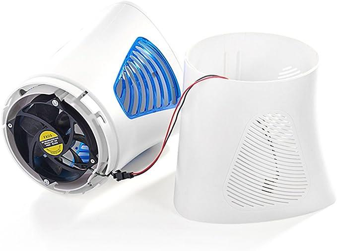 Lampe Anti-moustique Destructeur de Moustique Fochea Piège à Insectes Volants avec Ventilateur Aspirateur sans Radiation Non Toxique Répulsif Insectes Volants 17.6*17.6*31.4cm pour 40 m²