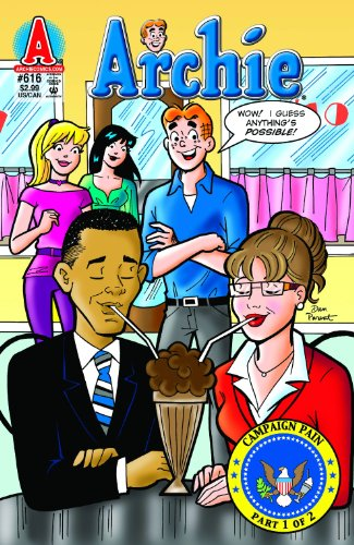 Archie Comics #616 Barack Obama and Sarah Palin - Campaign Pain Part 1