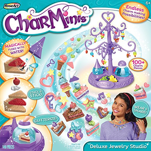 Rose Art CharMinis Charm Maker Deluxe Jewelry Studio Variety Pack