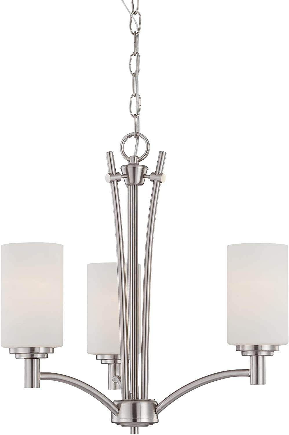 Thomas Lighting 190036117 Tia Chandelier Matte Nickel