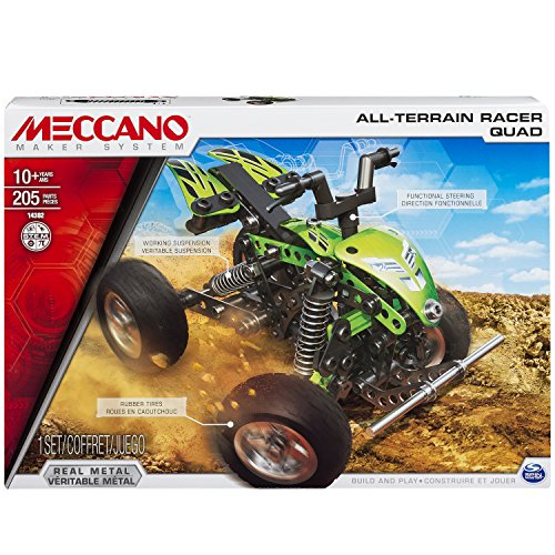 Meccano All Terrain Racer Quad Model Set