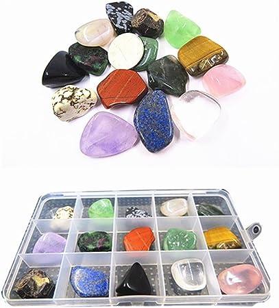 Mini Rainbow Healing Stone Chips Mixed Mini Healing Crystals Chakra Reiki Energy 3 Oz
