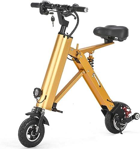 Mini Bicicleta Eléctrica, Adulto De Bicicleta Eléctrica Plegable ...