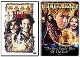 Hook + Peter Pan 2004 (Widescreen Edition) DVD Fantasy Bundle Movie Set